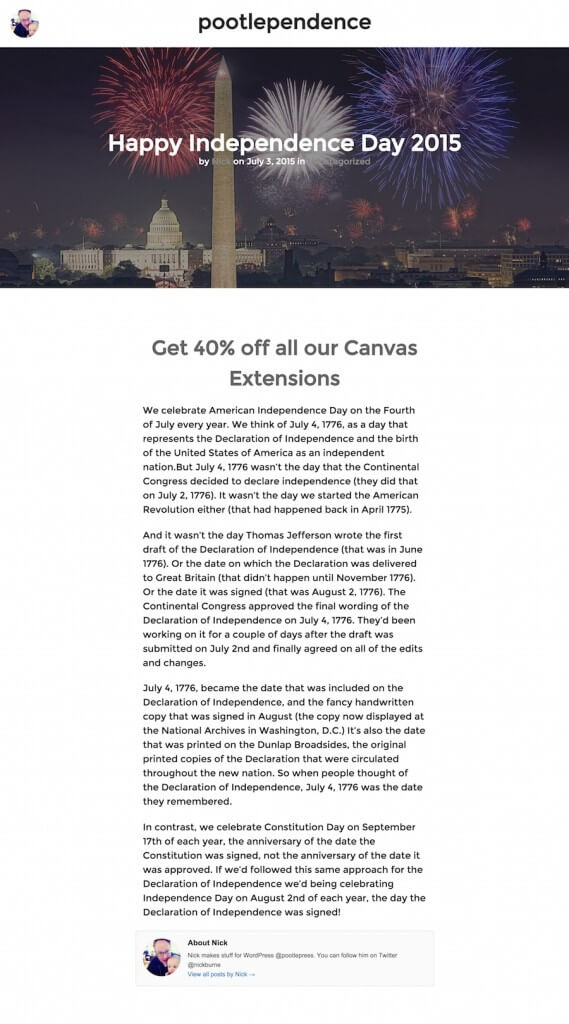 How to create a blog design like WooThemes and Medium.com using WooThemes Canvas 2