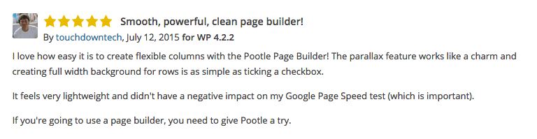 pootle page builder review