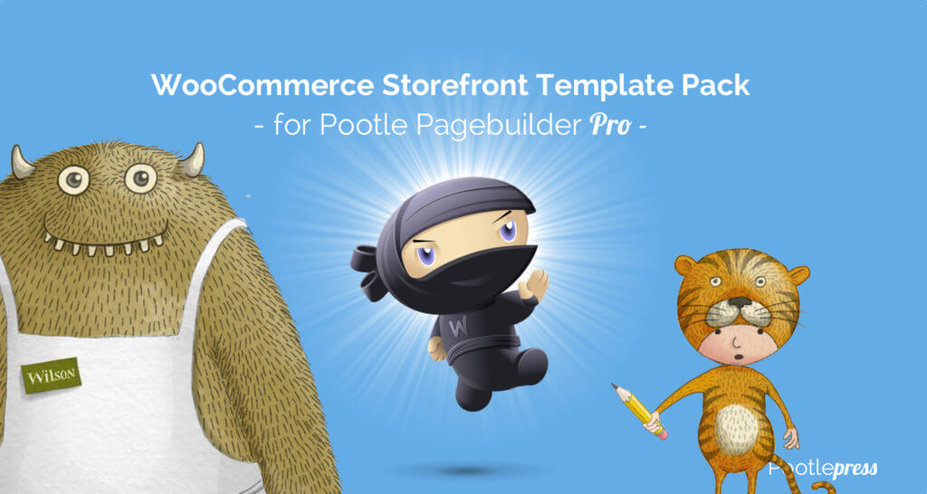 woocommerce storefront template pack