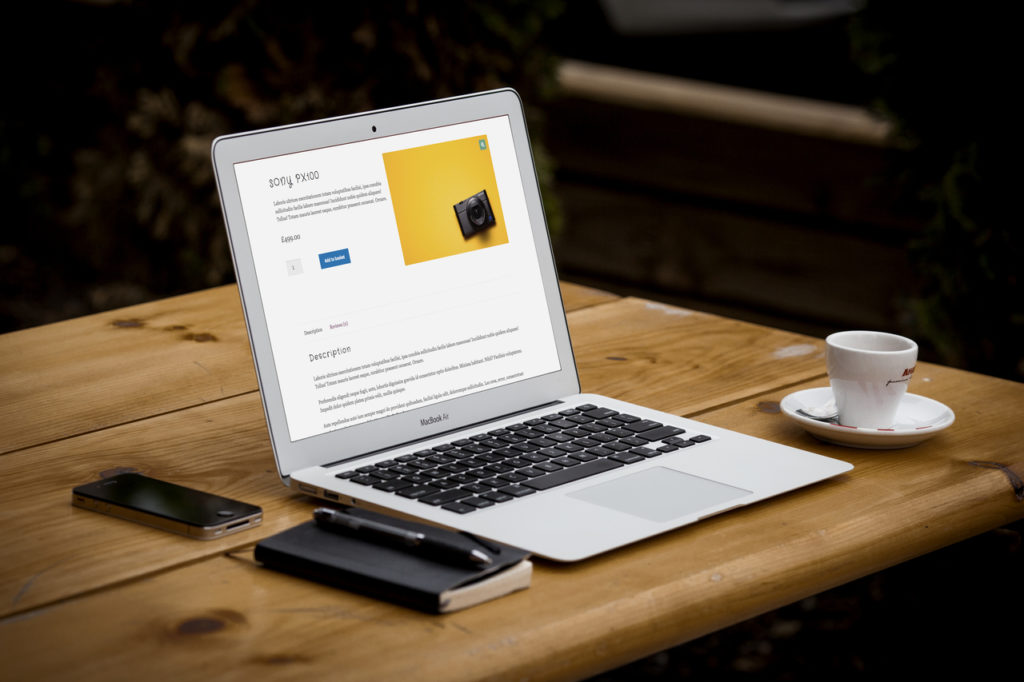 how to move the woocommerce produt image to the right