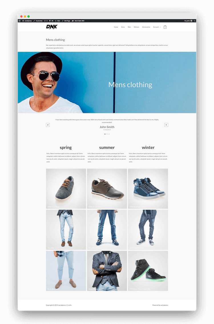edit category pages woocommerce
