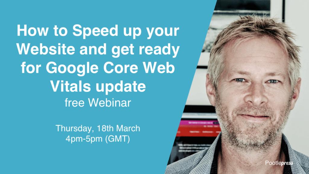 core web vitals free webinar